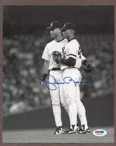 99f515716 Mariano Rivera Signed 8x10 Photo w  Derek Jeter PSA DNA COA AUTO NY Yankees  · Go YankeesNew York YankeesMlbBaseball ...