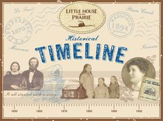 Ever wonder about the chronology of events in Laura's life and the historical context surrounding her experiences? The two timelines below weave some of her major life events with interesting historical milestones in literature, politics, science and technology.