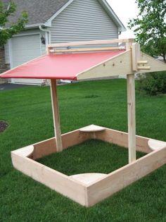 Shade and sandbox? I wanna build one!