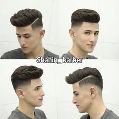 24 Amazing Latest Hairstyles & Haircuts for MEN'S Guys Take a look below top 25 cool images of men's new hairstyles, all of popular haircuts, taper to quiff , fade to pompadour are include in it below the gallery of men's latest hairstyles and haircuts. Trendy Mens Haircuts, Mens Hairstyles With Beard, Cool Hairstyles For Men, Hair And Beard Styles, Latest Hairstyles, Hairstyles Haircuts, Curly Hair Styles, Popular Haircuts, Hair Styles For Boys