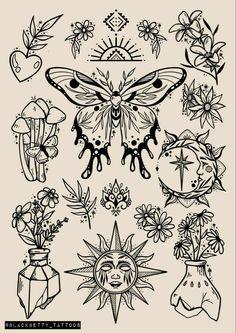 Dope Tattoos, Mini Tattoos, Body Art Tattoos, Small Tattoos, Retro Tattoos, Tattoo Sketches, Tattoo Drawings, Art Sketches, Tattoo Flash Art