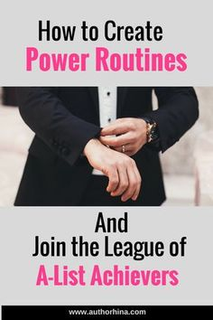 How to Create Power Routines