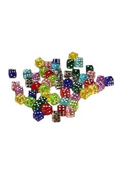 Little Guys Transparent 5mm | Playing Dice | Gamblers General Store