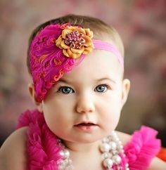Absolutely gorgeous portrait of baby girl