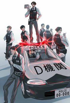 Joker Game/->miyoshi n sakuma in d car LOL Joker Game Anime, Kpop Fanart, Boy Art, Cute Anime Couples, Haikyuu Anime, Guys And Girls, Hetalia, Chibi, Animation