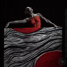 Body Art Gallery Art Color Ballet photography: Agnieszka Glińska bodypaiting&painting: Eliza Łoboda