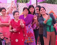 Our ladies enjoying a game of skiddles (or the Indian equivalent) at the workshop picnic. Fashion Brand, Fashion Online, How To Make Clothes, Fair Trade, Centre, Picnic, Workshop, Indian, Game