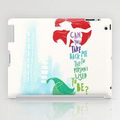 ariel iPad Case by Sara Eshak - $60.00