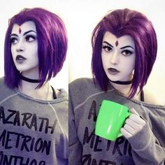 Casual Raven Cosplay (Credit: @newdll)