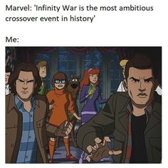 Supernatural Scoobynatural vs. The Avengers: Infinity War