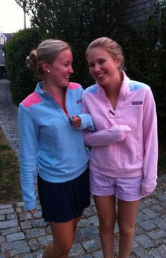 Vineyard Vines shep shirts with your monogram in the center of the back makes this so preppy....