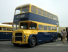 Leyland Titan with East Lancs. body, new in , Eastbourne. Old Leyland double decker. Road Transport, Public Transport, Coach Travel, Blue Bus, Routemaster, Double Decker Bus, Bus Coach, London Bus, Diet Program