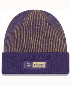 New Era Minnesota Vikings Tech Knit - Purple Adjustable