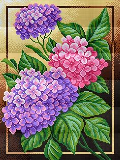 123 Cross Stitch, Cross Stitch Heart, Cross Stitch Cards, Cross Stitch Flowers, Cross Stitching, Cross Stitch Embroidery, Modern Cross Stitch Patterns, Cross Stitch Designs, Flower Painting Canvas