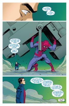 Peter Parker - Never Give Up (Superior Spider-Man #26) by Marcos Martin