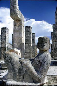 Wonderful Mayan ruins  Mexico