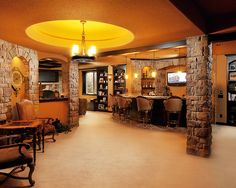 Traditional Basement Design, Pictures, Remodel, Decor and Ideas - page 4