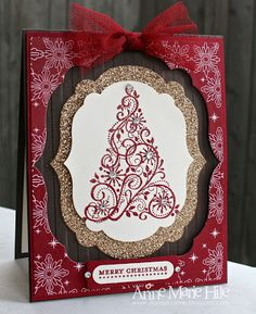 Stampin' Anne: Snow Swirled Frames for Paper Players #118