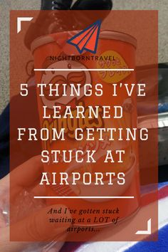 5 Things I've Learned from Getting Stuck at Airports – Tips for surviving long layovers, delays, and cancellations all around the world. Travel Checklist, Travel Advice, Travel Essentials, Travel Guides, Travel Tips, Travel Articles, Travel Stuff, Travel Hacks, Travel Destinations