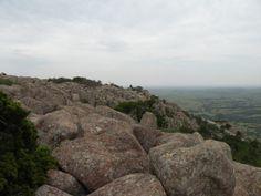 View from Mt. Scott, Wichita Mountains National Wildlife Refuge near Lawton, OK