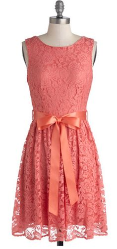 Beautiful lace dress with a sweet bow http://rstyle.me/n/efivinyg6