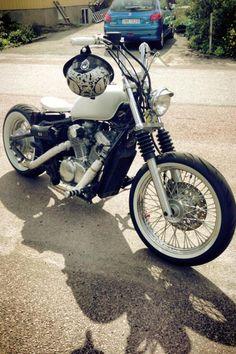 Honda 600 Shadow bobber by Mattias