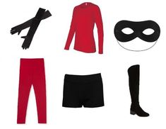 How to Make The Incredibles Costume - OneHowto #costumes #halloween #DIY #fancydress #disney #incredibles