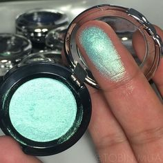 #ShareIG Swatch of the new #spring2015 single shadows by @nyxcosmetics | this one is in Mermaid/ Pinterest: ♕ Alina's Beauty Blogg ♕