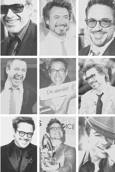 Adorable;) Robert Downey Jr. Everyone❤