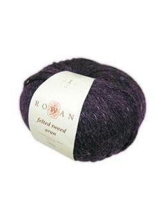 This wonderful, tweedy yarn is a beautiful blend of merino wool, alpaca and viscose. The rustic colour palette makes this yarn perfect for fairisles, striping and other colour work.