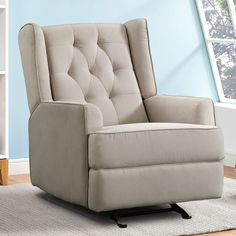 Cupps Traditional Back Recliner
