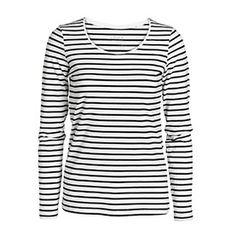 Striped T-shirt, long sleeve | Lindex
