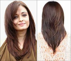 Стрижка лисий хвост на волосы средней длины
