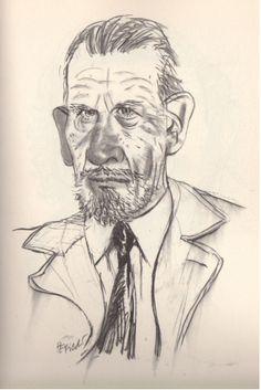 John Steinbeck / Tullio Pericoli