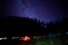 Ranu Kumbolo camp site - Indonesia