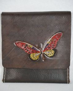 x Leather bag Leather Bags, Leather Purses, Leather Handbags, Must Have Items, Day Bag, Bag Making, Messenger Bag, I Am Awesome, Butterfly