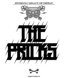 The Pricks Free Font | Download 100 Font Gratis untuk Desain Grafis dan Web