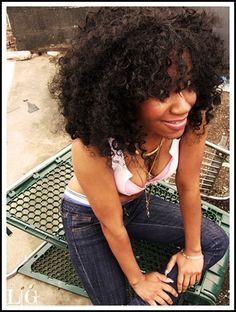 Curly Q. Hair envy