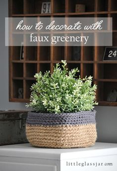 Best Ways To Decorate Your Home With Faux Greenery If You Have A Black Thumb