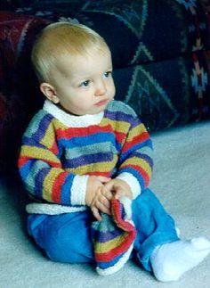 Yarn Forward - Danny Sweater Pattern