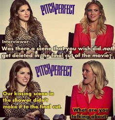 Anna Kendrick and Brittany Snow, lolll