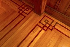 Beautiful floors. This wonderful 1904 craftsman home was designed by Julia Morgan, one of the most important female architects of the early 20th century.