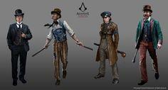 ArtStation - Assassin's Creed Syndicate, Grant Hillier