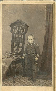 From my collection of 19th century photography.  General Tom Thumb, Civil War era celebrity.