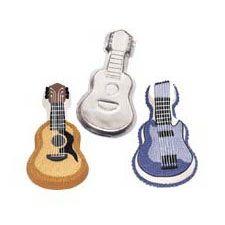 Guitar Pan - Wilton em Formas em Alumínio na Barra Doce