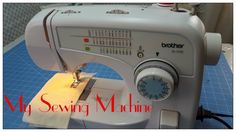 Tricia's Creations: My Sewing Machine