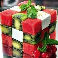 Ricetta Cubo di anguria