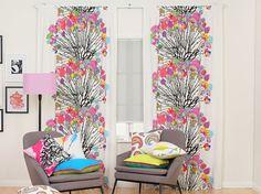 Vappukukka Fabric - Full of vibrant fashion colours, this fun modern print is…