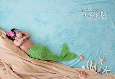 Mermaid tail, crochet mermaid tail, crochet Halloween costume, newborn photo prop, custom crochet tail, baby mermaid tail on Etsy, $19.00