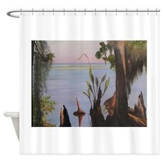 PICOLATA MORNING ON THE ST JOHNS  Shower Curtain
